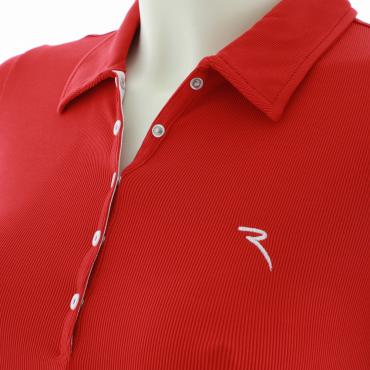 Poloshirt Damen ABY 53393 VULCAN RED Chervò