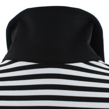 Poloshirt Damen APPEND 53373 BLACK/WHITE Chervò