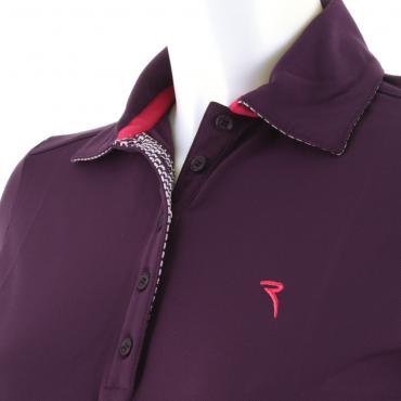 Poloshirt Damen ARK 55071 PLUM Chervò