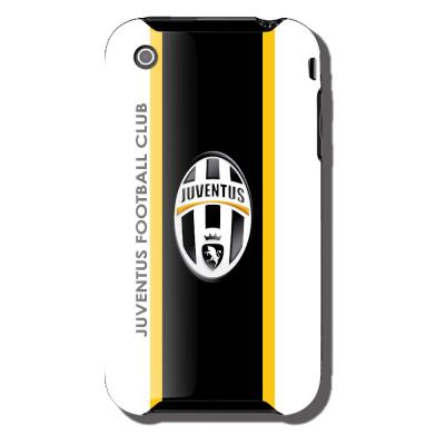 Ubikui Cover Iphone 3  Juventus Unisex BIANCO/NERO