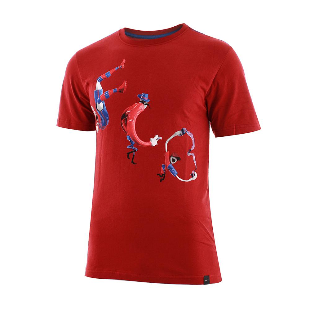 Nike T-shirt Short Sleeves Barcelona