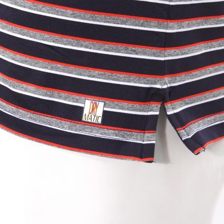 Polo Homme ALSAR 55431 Grey/Blue/Red Chervò