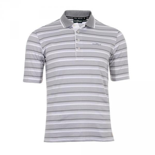 Polo Homme ALTREZ 55430 White / Grey Chervò