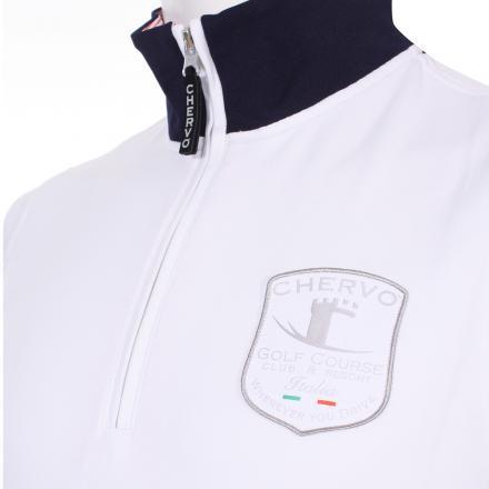 Sweatshirt Herren PORTEGO 55476 White Chervò