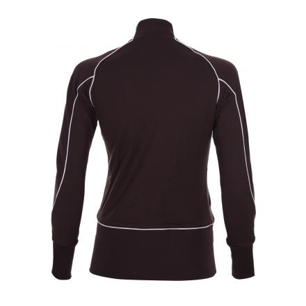 Sweatshirt Woman PIAVOLO 55477 Dark brown Chervò