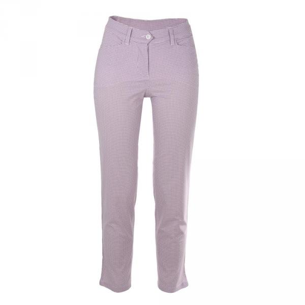 Pantalone Donna SCANSATE 55436 Bianco / Lilla Chervò