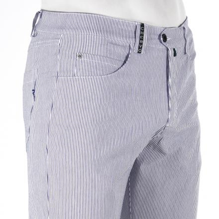 Pantalone Uomo SIESON 55453 Bianco / Blu navy Chervò