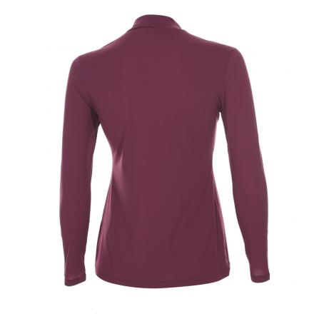Turtleneck Woman TEGOINA 55567 Plum Purple Chervò