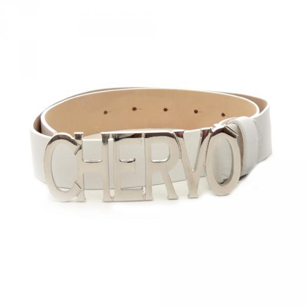 Cintura Uomo URGEN Y8973 BIANCO Chervò