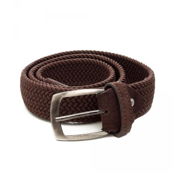 Ceinture  UNCUT 53480 DARK BROWN Chervò