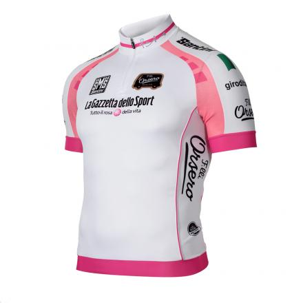Giro d'italia short sleeve white jersey- giro d' italia 2012 