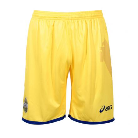 Asics Game Shorts Away Verona   12/13 YELLOW/NAVY