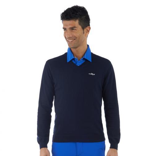 Pullover Herren NACALAMAN 55829 NAVY BLUE Chervò
