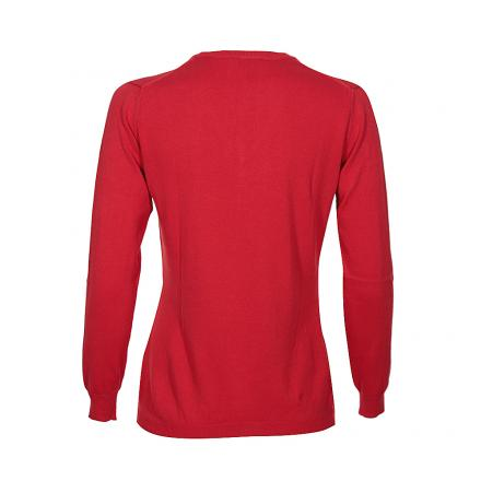 Pullover Damen NOTHING 55833 VULCAN RED Chervò