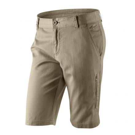 Nike Pantaloncino Pantaloni Corti Donna BEIGE