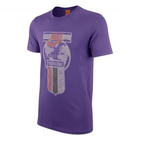 T-SHIRT STAMPA TRACK AND FIELD INTERNATIONAL MANICA CORTA