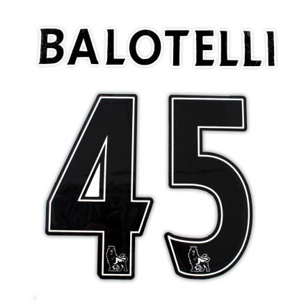 Sporting Id Official Number And Name  Manchester City BLACK