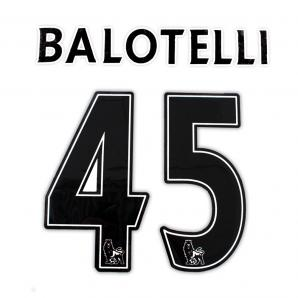 ORIGINAL NAME BALOTELLI 45 BLACK