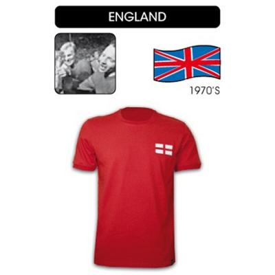 Copa Maillot Vintage  England Soccer RED