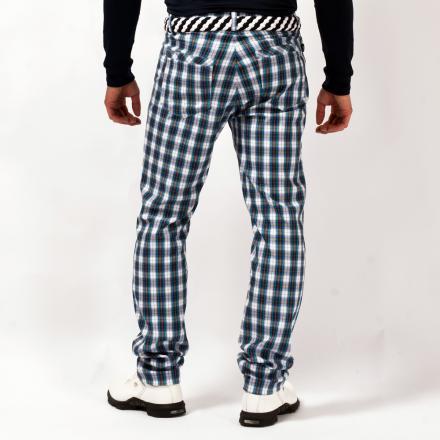 Pantalone Uomo SILUSI 55807 Fantasia a Quadri Chervò