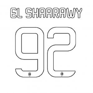 NAME ORIGINAL EL SHAARAWY WHITE - JUNIOR