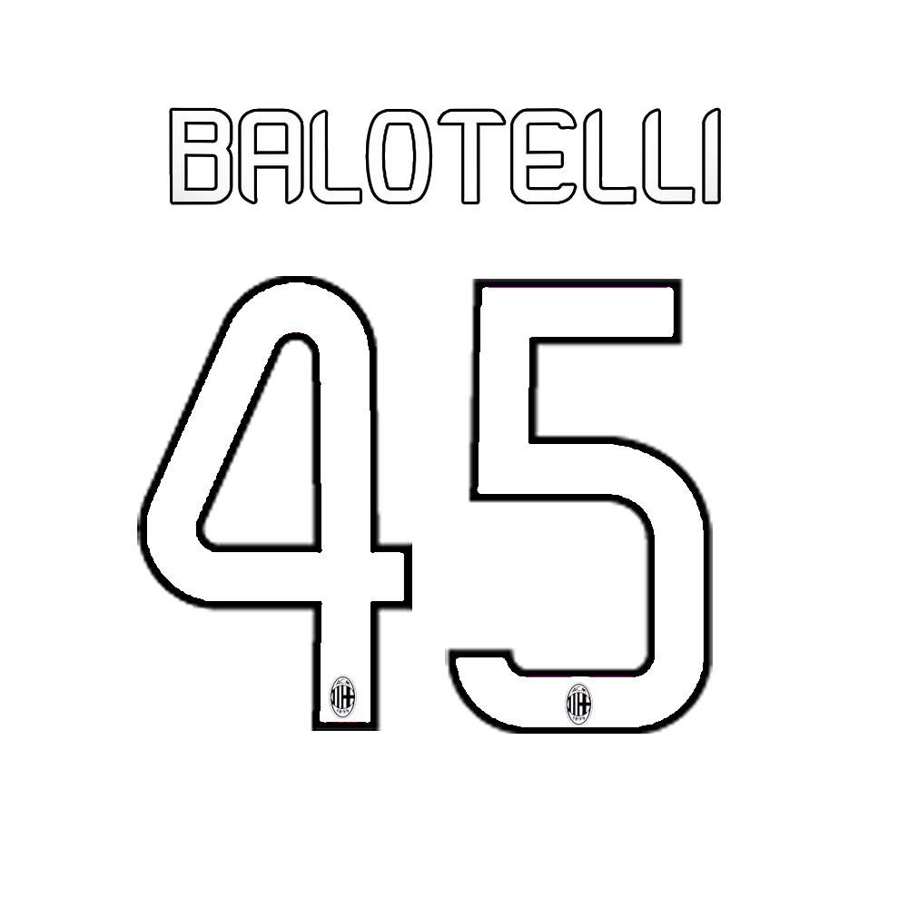 Stilscreen Official Number And Name  Milan   13/14