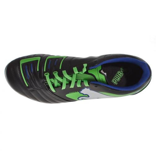 Puma Scarpe Calcio Powercat 4 R Hg Jr  Junior nero verde e blu Tifoshop