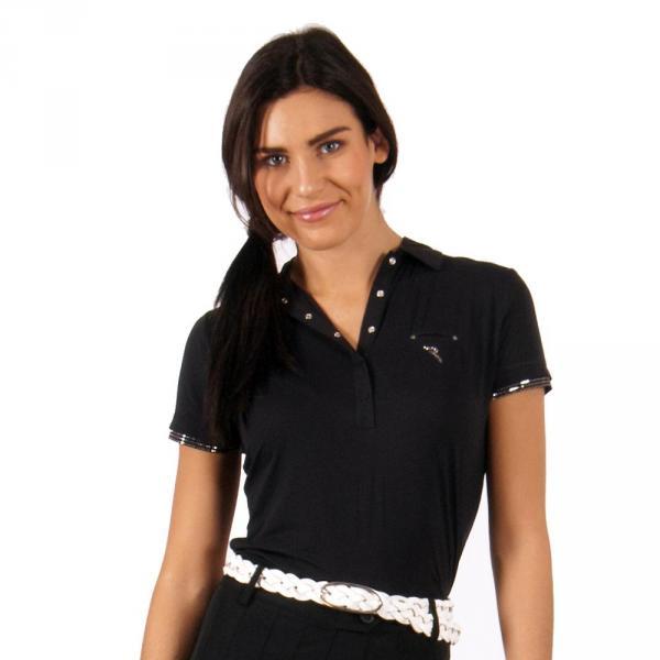 Polo Woman AXIMA 56110 Black Chervò