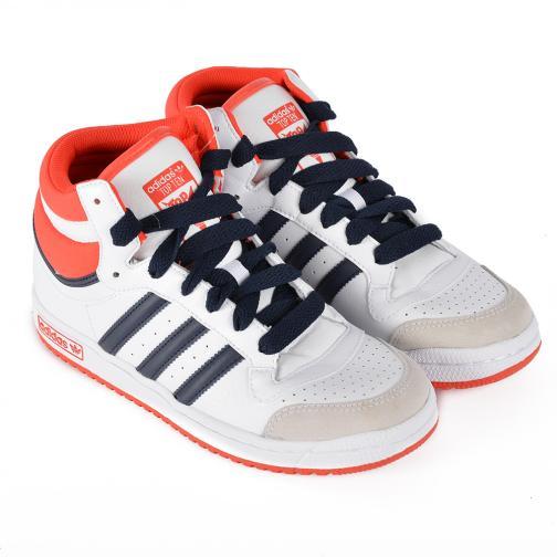 Adidas Originals Shoes Topten Hi K  Junior White Blue