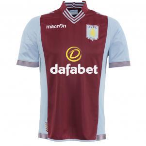 Macron Shirt Home Aston Villa   13/14