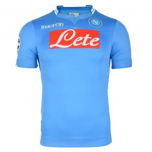 HOME JERSEY NAPOLI CHAMPIONS LEAGUE