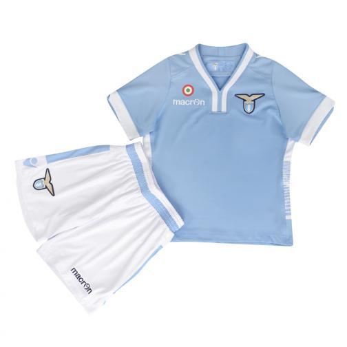 Macron Game Kit Home Lazio Junior  13/14 BLUE LIGHT