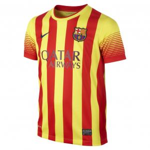 Nike Jersey Away Barcelona Junior  13/14