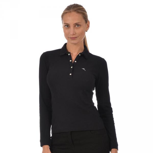 Poloshirt Damen AREO 56303 Black Chervò