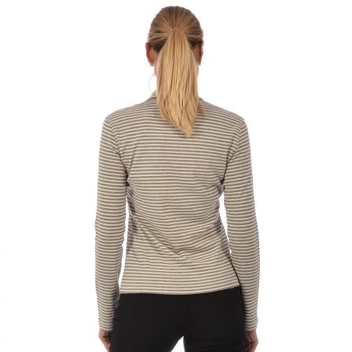 Poloshirt Damen AVOID 56363 Cream And Grey (Stripes) Chervò