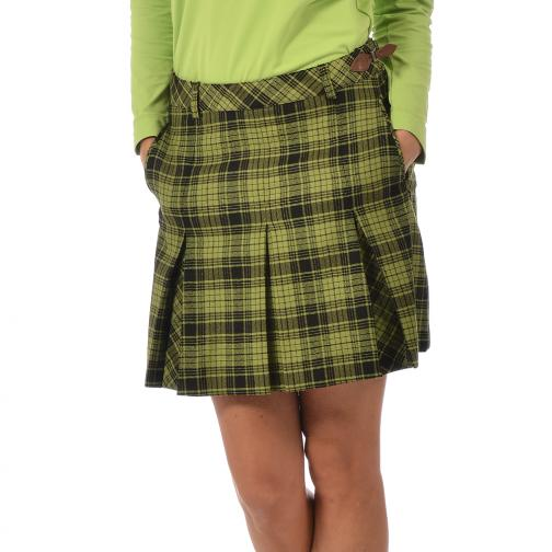 Rock Damen JUDITTA 56384 Green And Black (Checks) Chervò