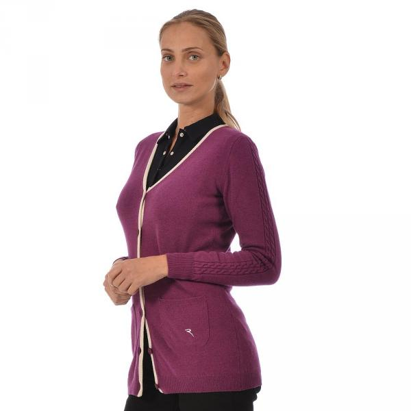 Chandail Femme NORCINO 56388 Purple Wine Chervò