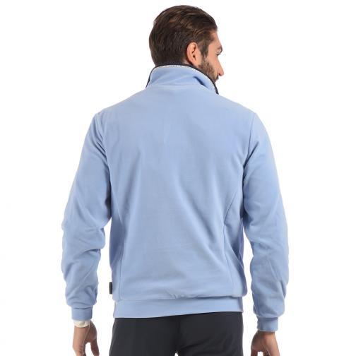 Sweatshirt Herren PAVONETTA 56230 Blue Light Pervinca Chervò
