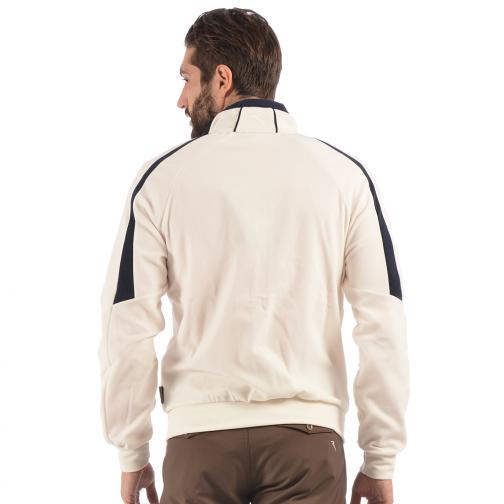 Sweatshirt Man PIOLTELLO 56312 Cream Chervò