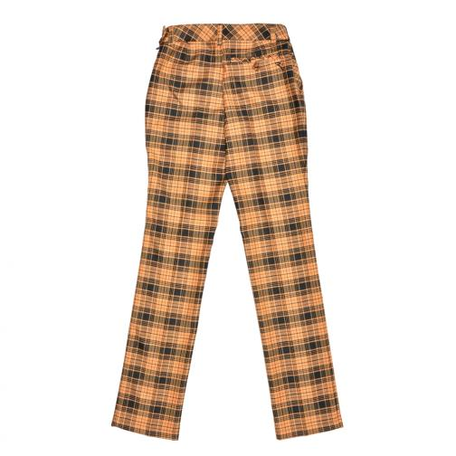 Pant Woman SOMELIER 56385 Yello And Black (Checks) Chervò