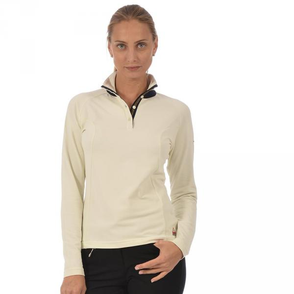 Turtleneck Woman TROOPER 56292 Cream Chervò