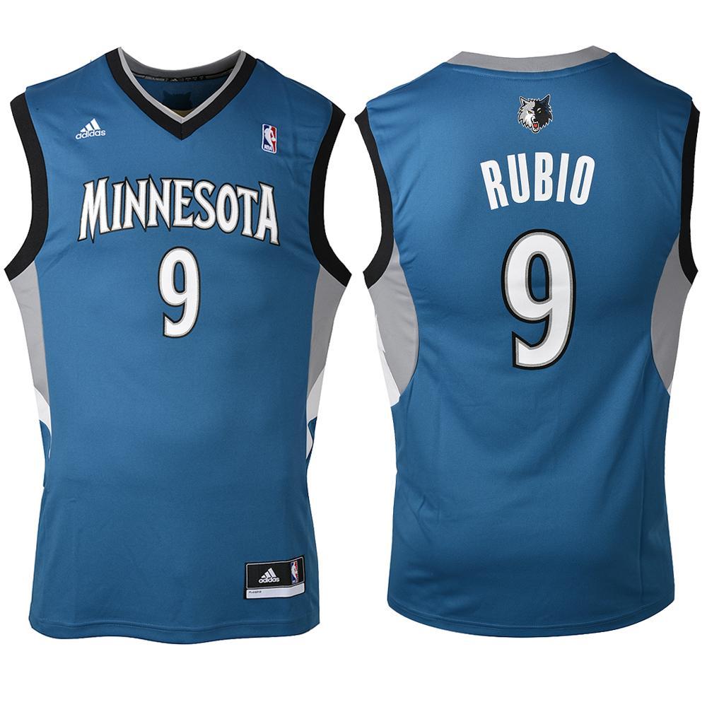 Adidas Débardeur Replica Minnesota Timberwolves  Ricky Rubio 13/14