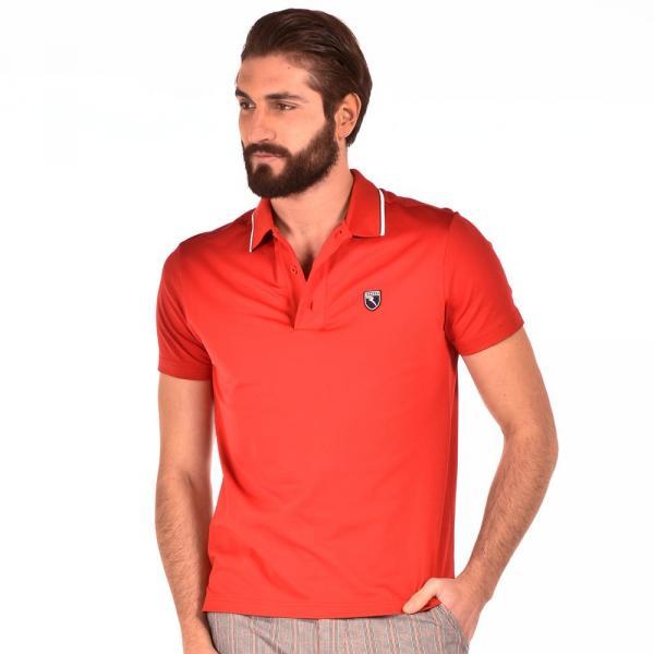 Poloshirt Herren ALMERIA 56423 Red Chervò