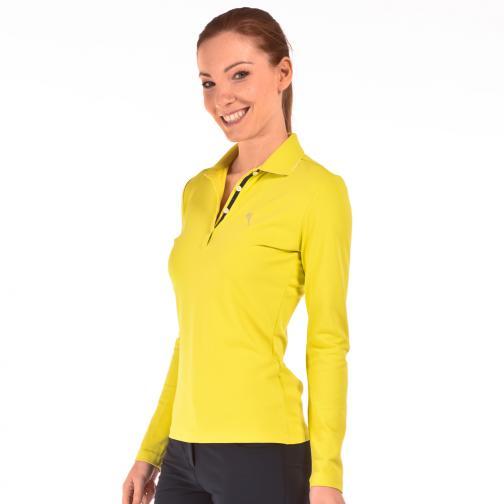 Poloshirt Damen ARSAMANDI 56434 Lime Chervò