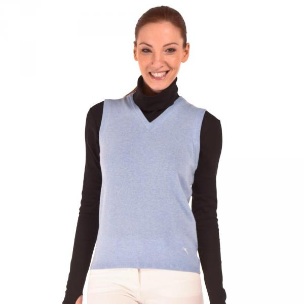 Sweater Woman NIDIADA 56387 Blue Light Chervò