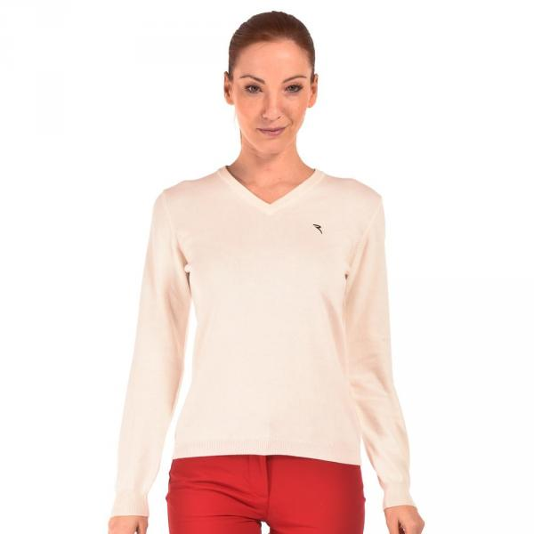 Pullover Damen NOTHING 55833 Cream Chervò