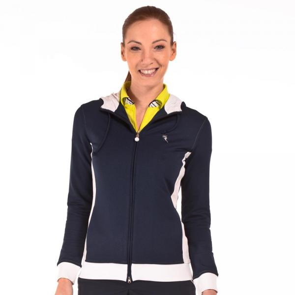 Maglione Donna PRESICCE 56410 Blu Navy Chervò