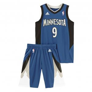Adidas Kit Football  Minnesota Timberwolves Enfant RICKY RUBIO 14/15