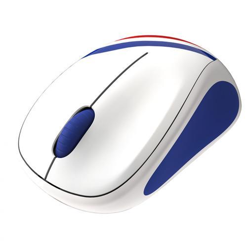 Logitech Mouse Wireless Mouse M235 Francia Unisex Bianco Tifoshop