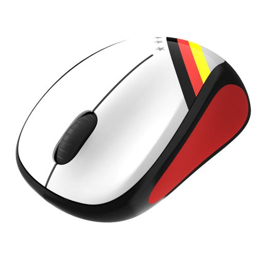 Logitech Mouse Wireless Mouse M235 Germania Unisex Bianco Nero Rosso Tifoshop
